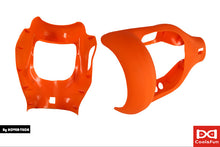 Housse en silicone demi protection Orange