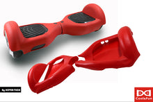 Housse en silicone protection intégrale Rouge