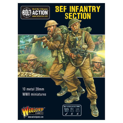 BOLT ACTION BRITISH BEF INFANTRY SECTION