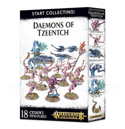START COLLECTING! DAEMONS OF TZEENTCH