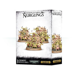 DAEMONS OF NURGLE NURGLINGS