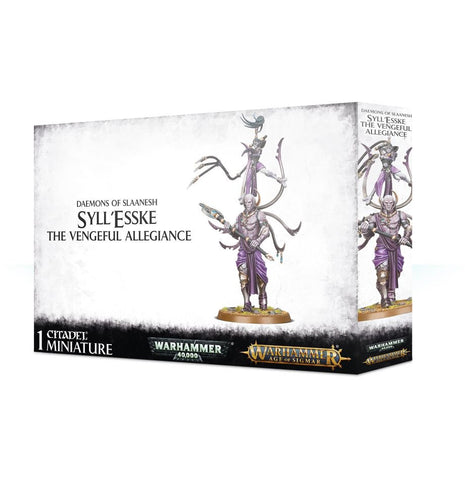 Daemons of Slaanesh: Syll'esske The Vengeful Allegiance
