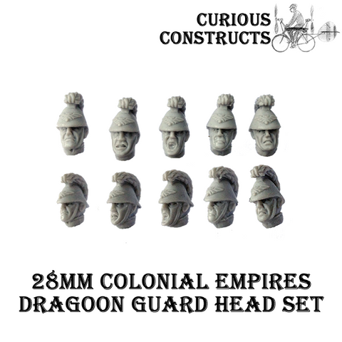 COLONIAL EMPIRES DRAGOON GUARD HEAD SET