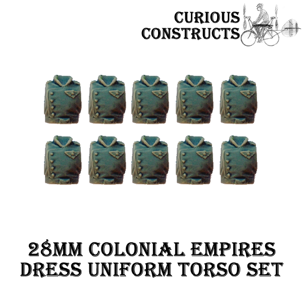 COLONIAL EMPIRES DRESS UNIFORM TORSO SET
