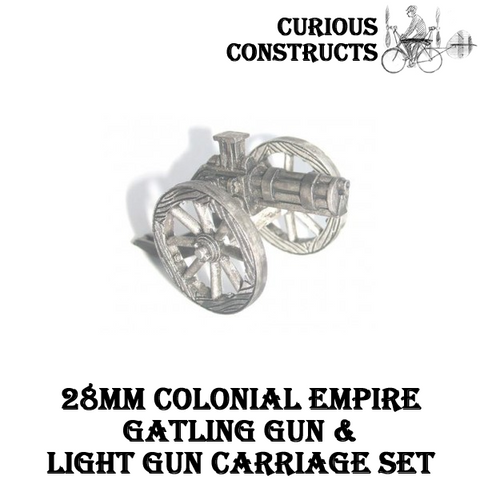 COLONIAL EMPIRES GATLING GUN & LIGHT GUN CARRIAGE SET