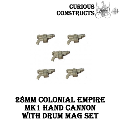 COLONIAL EMPIRES MK1 HAND CANNON WITH DRUM MAG SET
