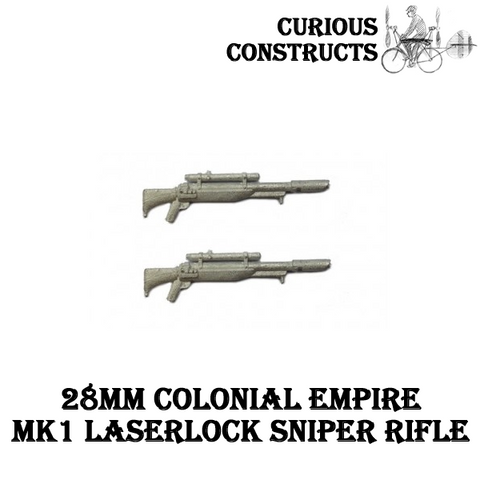 COLONIAL EMPIRES MK1 LASLOCK SNIPER RIFLE SET
