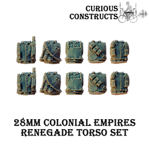 COLONIAL EMPIRES RENEGADE TORSO SET