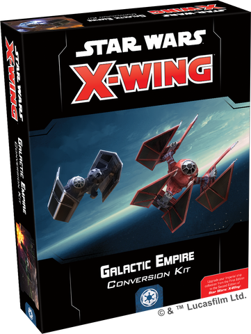 PRE-ORDER X-WING SECOND EDITION: GALACTIC EMPIRE CONVERSION KIT