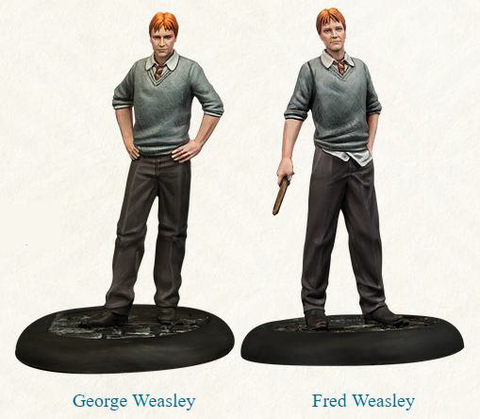 PRE-ORDER - HARRY POTTER MINIATURES ADVENTURE GAME - FRED & GEORGE WEASLEY