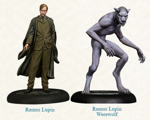 Harry Potter Miniatures Adventure Game - Remus Lupin