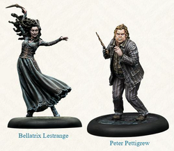 PRE-ORDER - HARRY POTTER MINIATURES ADVENTURE GAME - BELLATRIX & WORMTAIL EXPANSION