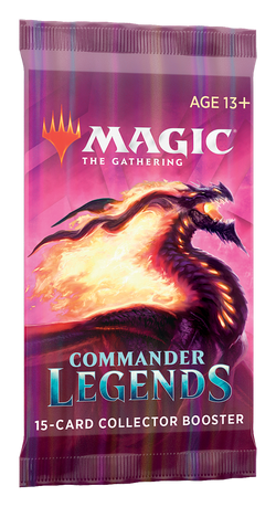 Magic the Gathering: Commander Legends Collectors Booster Pack
