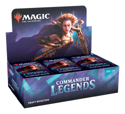 Magic the Gathering: Commander Legends Draft Booster Display