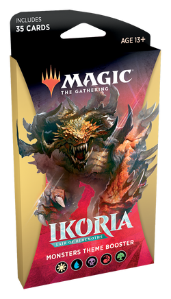 Magic the Gathering: Ikoria: Lair of Behemoths Theme Booster