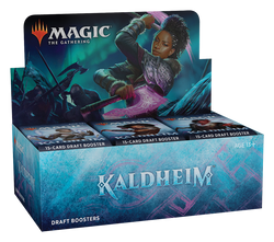 Magic the Gathering: Kaldheim Draft Booster Display