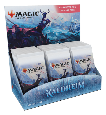 Magic the Gathering: Kaldheim Set Booster Display