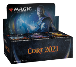Magic the Gathering: Core Set 2021 Draft Booster Display