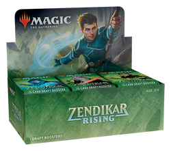 Magic the Gathering: Zendikar Rising Draft Booster Display