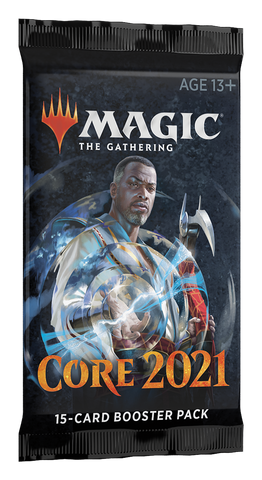 Magic the Gathering: Core Set 2021 Draft Booster Pack