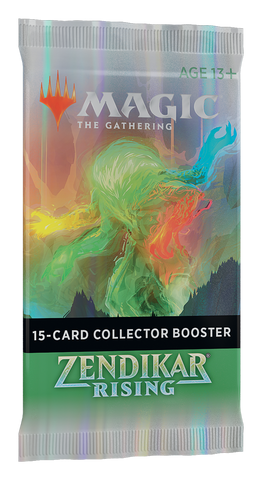 Magic the Gathering: Zendikar Rising Collectors Booster Pack