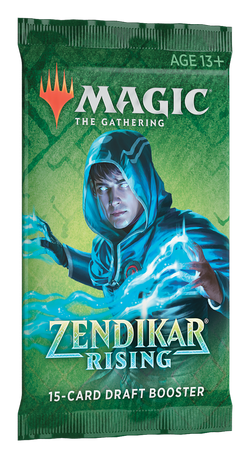 Magic the Gathering: Zendikar Rising Draft Booster Pack