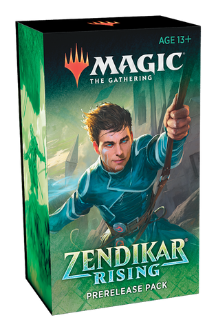 Magic the Gathering :Zendikar Rising Prerelease Pack + 2 Draft Boosters