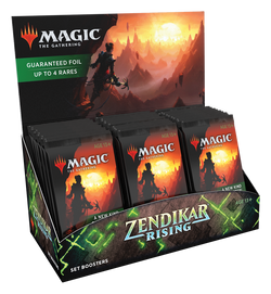 Magic the Gathering: Zendikar Rising Set Booster Display