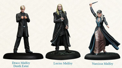 PRE-ORDER - HARRY POTTER MINIATURES ADVENTURE GAME - MALFOY FAMILY