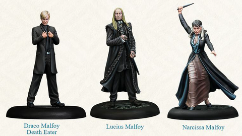 Harry Potter Miniatures Adventure Game - Malfoy Family
