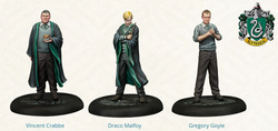 PRE-ORDER - HARRY POTTER MINIATURES ADVENTURE GAME - SLYTHERIN STUDENTS