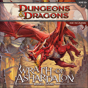 WRATH OF ASHARDALON BOARD GAME BOARD GAME