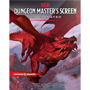 DUNGEON MASTER'S SCREEN REINCARNATED DUNGEONS & DRAGONS ACCESSORY