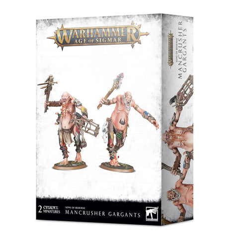 Sons of Behemat: Mancrusher Gargants