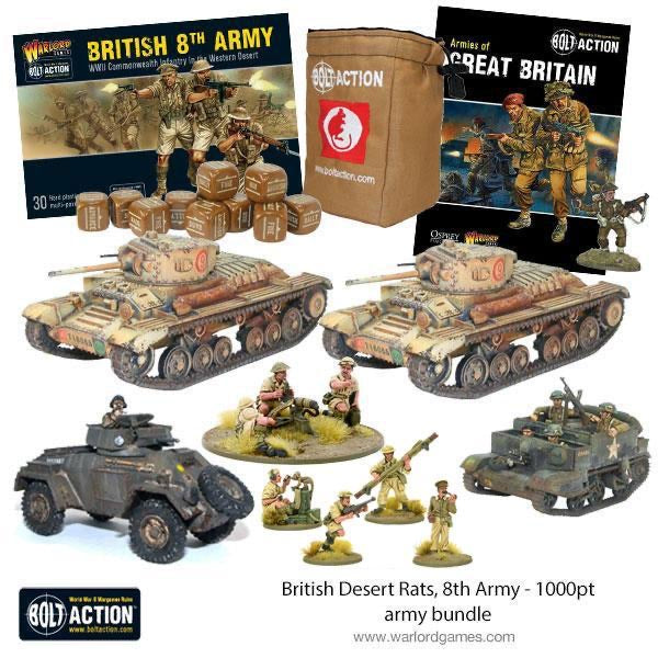 British Desert Rats, 8th Army - 1000pt starter army