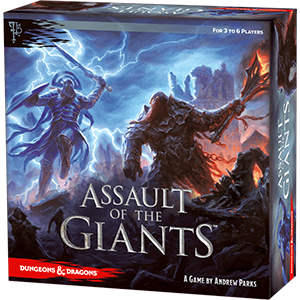 ASSAULT OF THE GIANTS BOARD GAM