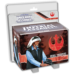 STAR WARS IMPERIAL ASSAULT REBEL TROOPERS ALLY PACK