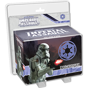 STAR WARS IMPERIAL ASSAULT STORM TROOPERS VILLAIN PACK