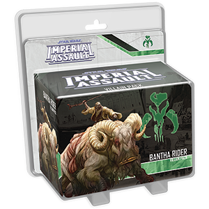 STAR WARS IMPERIAL ASSAULT BANTHA RIDER VILLAIN PACK