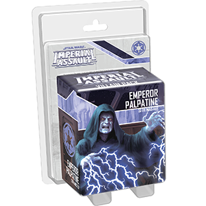STAR WARS IMPERIAL EMPEROR PALPATINE VILLAIN PACK