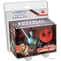 PRE-ORDER - STAR WARS IMPERIAL ASSAULT EZRA BRIDGER AND KANA JARRUS ALLY PACK