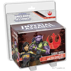 PRE-ORDER - STAR WARS IMPERIAL ASSAULT SABINE WREN AND ZEB ORRELIOS ALLY PACK
