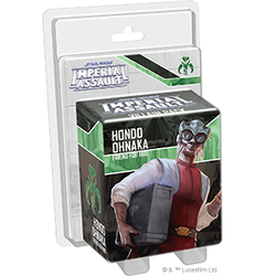 PRE-ORDER - STAR WARS IMPERIAL ASSAULT HONDO OHNAKA VILLAIN PACK