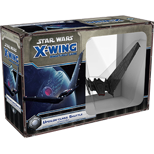 LAST ONE - X-WING: UPSILON-CLASS SHUTTLE EXPANSION PACK