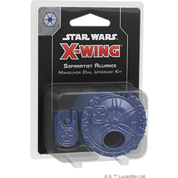 Pre-Order - Star Wars X-Wing: Separatist Alliance Maneuver Dial Upgrade Kit