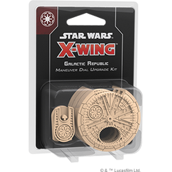 Pre-Order - Star Wars X-Wing: Galactic Republic Maneuver Dial Upgrade Kit