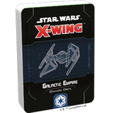 X-Wing Galactic Empire Damage Deck