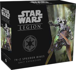 Star Wars Legion - 74-Z Speeder Bikes Unit Expansion