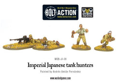 BOLT ACTION IMPERIAL JAPANESE ARMY TANK HUNTERS