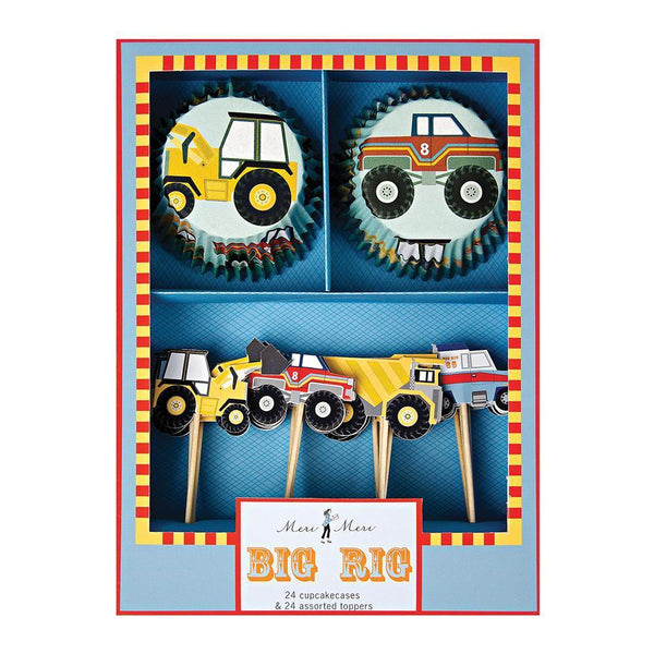 Big Rig Cupcake Kit - IMAGINE Party Supplies